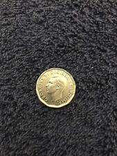1947 CANADIAN 5 CENT COIN GEORGIVS VI D:G:REX ET IND:IMP: