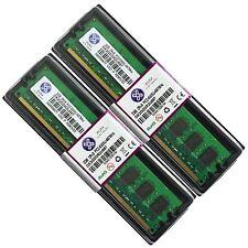 NUOVO 4gb 2x2gb ddr2 667 pc2 5300 NON ECC Memoria RAM 240-pin Desktop PC cl5 by XUM