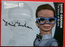 THUNDERBIRDS 50 YEARS - David Graham (Brains) Autograph Card - DG3 - Unstoppable
