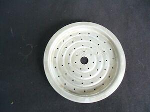 vintage retro pyrex 9 cup glass coffee percolator  top filter
