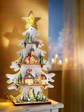 Tannenbaum Holzbaum Weihnachtsbaum 110 cm Holz  Weihnachtsdeko Dekoobjekt DEKO