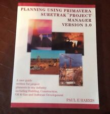 Planning Using Primavera Suretrak Project Manager Ve...