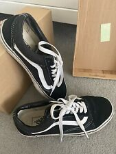 Womens Vans Trainers, Size 5 Eur 38, Black And White Old Skool