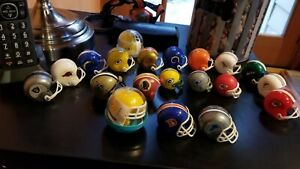NFL Gumball helmets 20 mixed teams, styles - Vintage