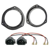 Lautsprecherringe (Türe Front oder Heck) 165mm Ringe Hyundai i20 + KFZ Adapter