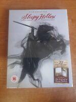 Sleepy Hollow bluray digipack book con Libro 40 pagine Depp Tim Burton Ricci