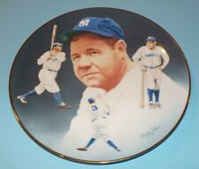 Babe Ruth NY Yankees 1984 Hackett American Plate Christopher Paluso
