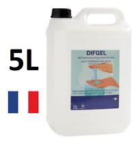 Désinfectant hydro-alcoolique mains DIFGEL 5L [Livraison Express 🇫🇷]
