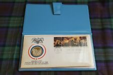 1976 American Bicentennial First Day Cover Silver Proof Coin COA