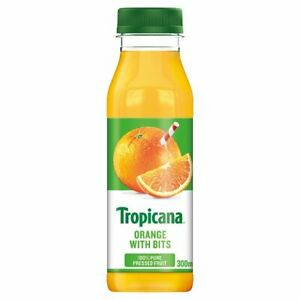 Tropicana Original Orange Juice with Bits 300ml x 8 Cafe Takeaway Catering