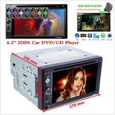 "Double DIN 6.2"" In dash Car Stereo Radio CD DVD Player FM/USB/TF Bluetooth MP5"