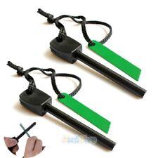 Outdoor Magnesium Rod Cover Link System Gürtelclip für K-Scheide mit Fire Stick