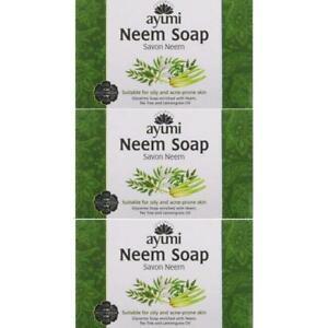 3 x Ayumi Neem Soap 100g