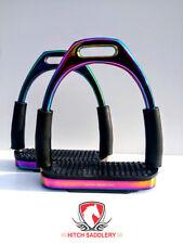12cm HITCH Flexible RAINBOW REGENBOGEN Sicherheitssteigbügel Mit Gelenk Super