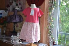 Robe neuve CHIPIE 3 ans Haut Petit Chien Bas petites Fleurs fait tres Liberty