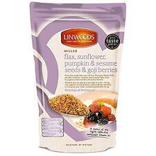 Linwoods lavorato Flaxseed semi di girasole zucca e SEMI di sesamo e bacche di Goji 425g