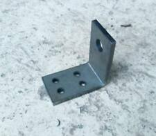 10 x Right Angle Bracket 5&10mm Holes 90 Degree Bend Laser Cut Repair Gate Fence