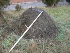 Large Grass Scythe, Wooden Shaft/Snaith 1.8m Long & 60cm Steel Blade