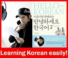 LEE JUN KI HELLO KOREAN Vol.2 English Version (Book + 2 Audio CD) Lee Joon Gi