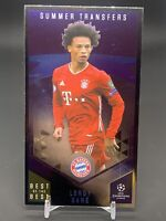 2020-21 Topps UEFA Soccer Best of the Best Summer Transfers Leroy Sane FC Bayern