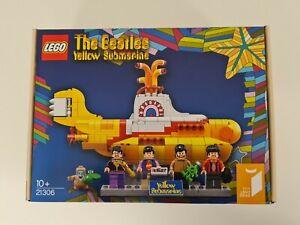 NEW SEALRD LEGO 21306 The Beatles Yellow Submarine Ideas