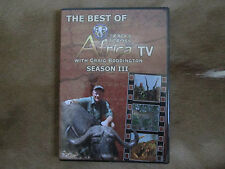 The Best of Tracks Across Africa Season 3 Craig Boddington African Hunting DVD