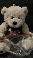 "12"" HERSHEY'S WORLD CHOCOLATE WORLD PLUSH TEDDY BEAR STUFFED ANIMAL"
