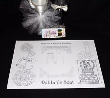 Personalised Childrens Kids Wedding Activity Pack Placemat A4 Favour 16
