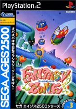 PS2 Sega AGES 2500 Series Vol. 3 Fantasy Zone PlayStation2 Japan Game Japanese