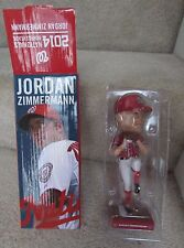 2014 MLB Washington Nationals Jordan Zimmerman Bobblehead BOBBLE HEAD NIB
