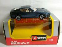 BURAGO 1:43 DIECAST FERRARI 456 GT - COD. 4146 - BOXED
