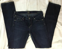 Citizens of Humanity COH Womens Ava Low Rise Straight Leg Denim Jeans Size 27/33