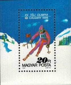 SPECIAL LOT Hungary -SC# 3100 - Winter Olympics- Lot of 41 Souvenir Sheets - MNH
