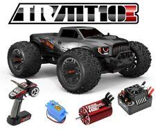 Team Redcat TR-MT10E Brushless GUN METAL 4x4 Truck MAX10 ESC Savox 2.4Ghz