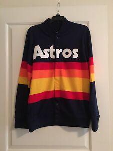 Houston Astros 1986 Mitchell & Ness Rainbow Throwback Sweater: Medium Kate Upton