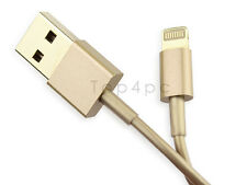 CABLE IPHONE CHARGEUR COULEUR OR POUR IPHONE 7 6 PLUS 5S USB DATA SYNCHRO IPAD
