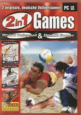 2in1 Games: Beach Volleyball & Beach Soccer (PC, 2005) mit Kurz-Anleitung