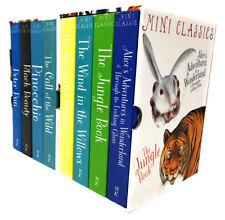 Miles Kelly Mini Classics 8 Book Children Christmas Collection Box Set Peter Pan