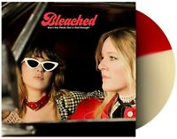 Bleached - Don't You Think You've Had Enough? Rare Red And White Split Vinyl LP