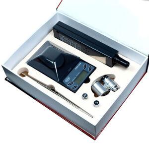 Jeweler diamond tool kit : 0.001g Digital Scale + Tester  + Loupe + Tweezers