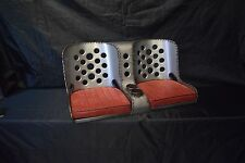 """Bomber Seat Rat Rod Hot Rod """"BENCH"""" Seat - 40"""" with Cushions"""