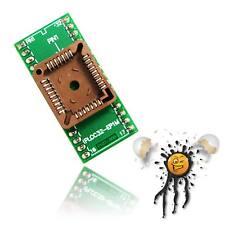 Qfj32 EPROM-Adaptateur 32 A => 32 PLCC 1,27 to 2,54 DIP PIN mm pitch 550x450 Mil