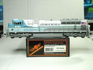 MIKES TRAIN HOUSE HO SCALE SD70ACE LOCO DCC READY UP/GEORGE BUSH 802013-0