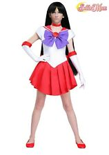 Women's Sailor Moon: Sailor Mars Anime Costume SIZE M (Used)