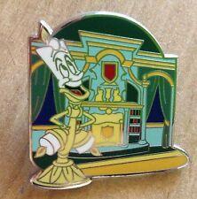 Disney Fantasyland Mystery PIN Beauty and the Beast LUMIERE