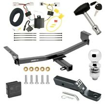 """Trailer Tow Hitch For 08-20 Nissan Rogue except Sport & Krom Wiring 2"""" Ball Lock"""