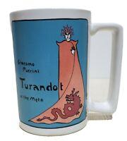 Rare Turandot at the Met Mug Giacomo Puccini 1987 Theatre Collectible