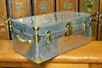 Aluminium Brass Antique Solid Military Boot trunk