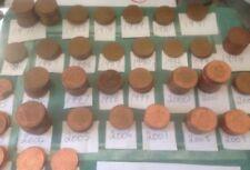 Pièces de monnaie de l'Europe en argent plaqué, de Royaume-Uni