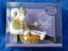 C2478 Barbie Lounge Kitties white tiger 2003 Collector Brand New MIB